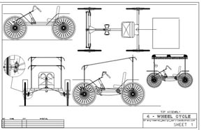 Pedal Car Plans Free http://www.mydiyplans.com/4wheel_cycle.html