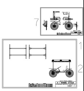 DIY 4 Wheel Bike http://www.mydiyplans.com/4wheel_cycle.html