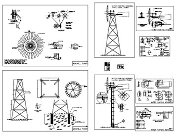 windmill plans drawings